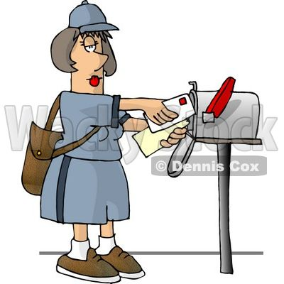 post office worker clip art carrier delivering mail into a rh pinterest com post office building clipart post office clipart png