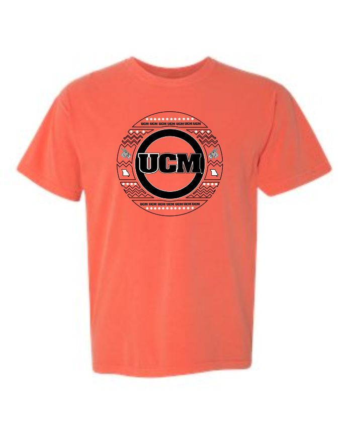 75bebf4c0cb Get ready to show your UCM pride with this super cute shirt that has a UCM  Circle logo on the back and a UCM left chest! - 6.1 oz.