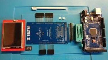 Smart IC Tester #logicboard