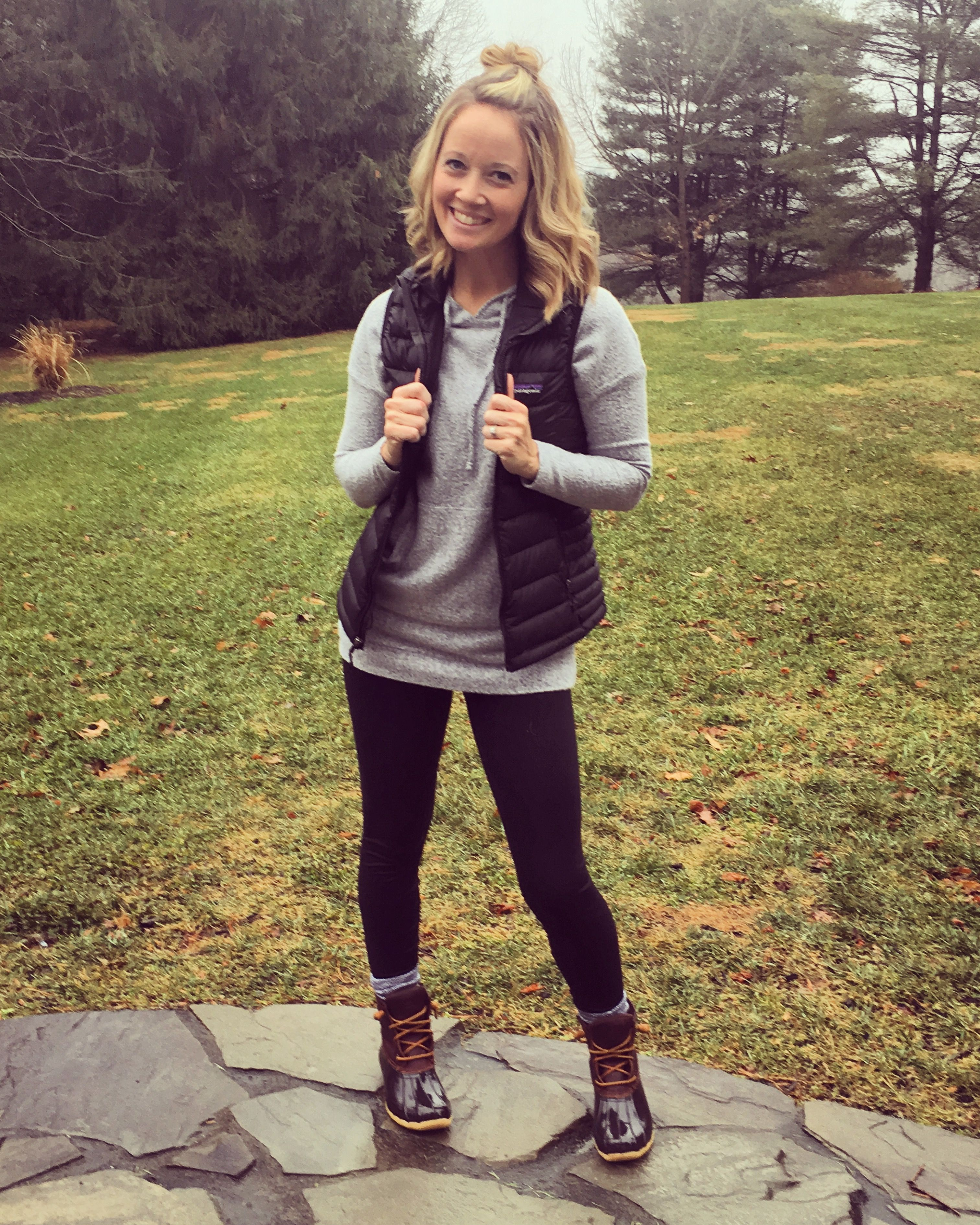 Sperry Duck Boots Patagonia vest SN9 posh pants and hoodie http//sn9boutique.com/ | Sweet ...