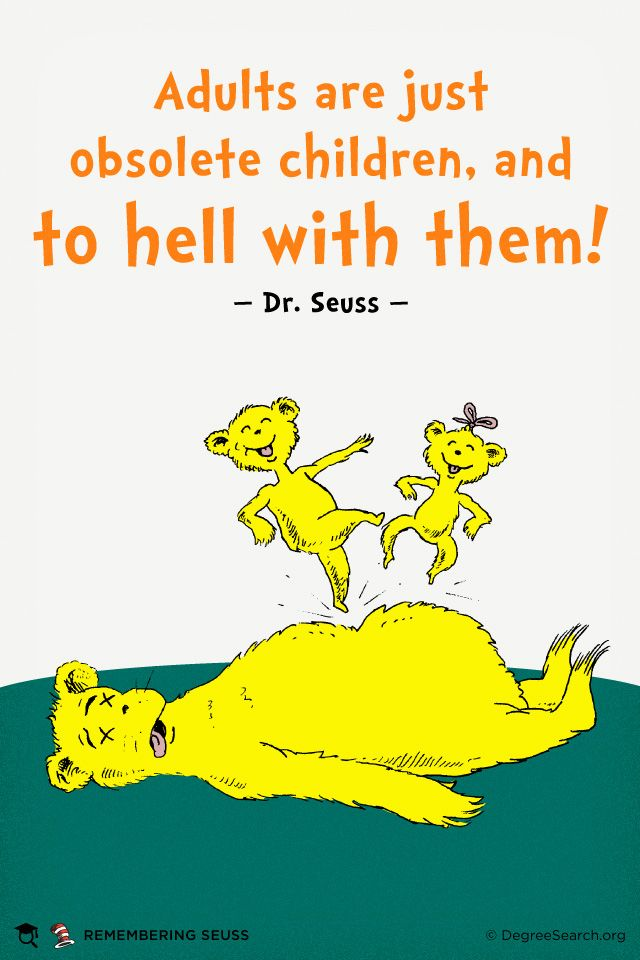 Dr suess books adult