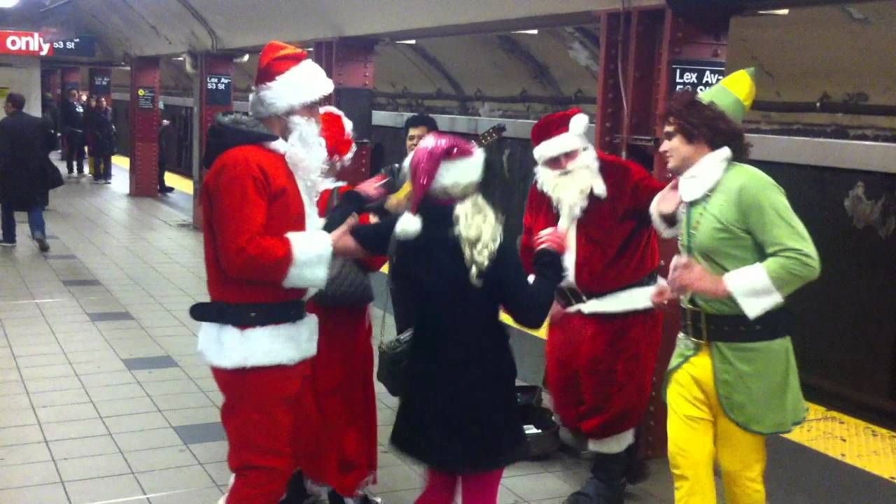 elves in the subway - Google Search