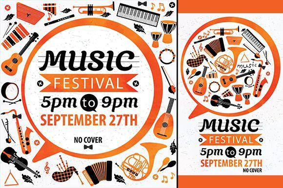 Music festival Vector music flyer – Music Flyer