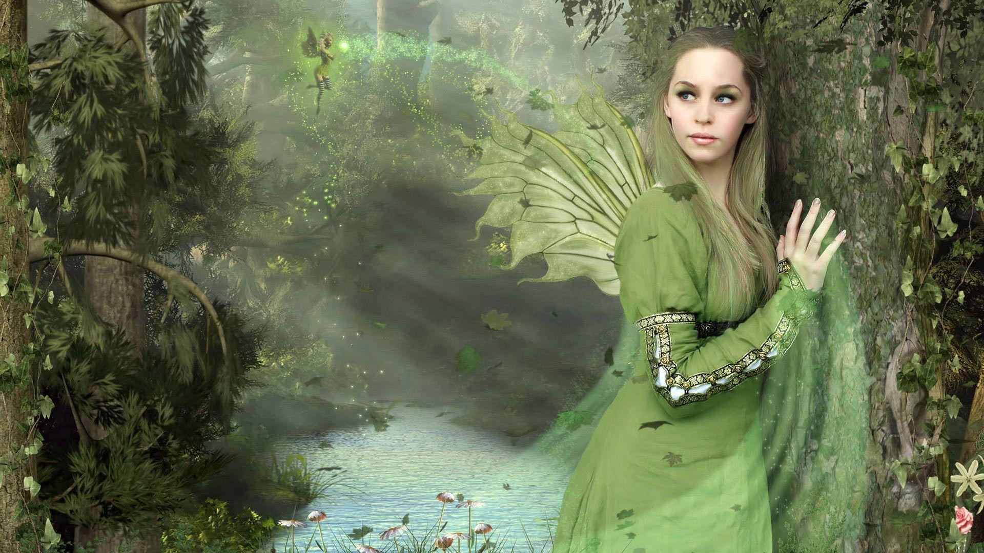 Fantasy Art Public Domain Fantasy Girls Wallpapers Pack