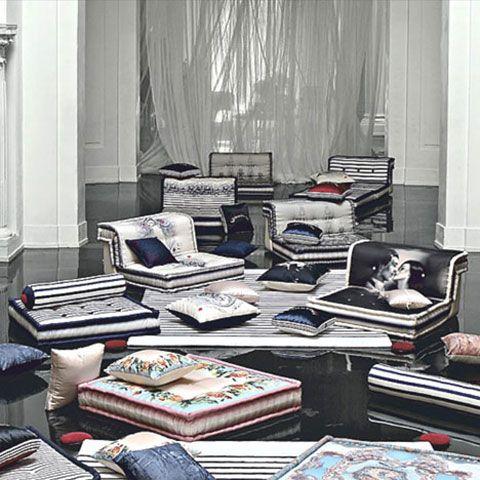 DESIGN \/\/ Jean Paul Gaultieru0027s awesome modular futon-inspired - schlafzimmer design ideen roche bobois