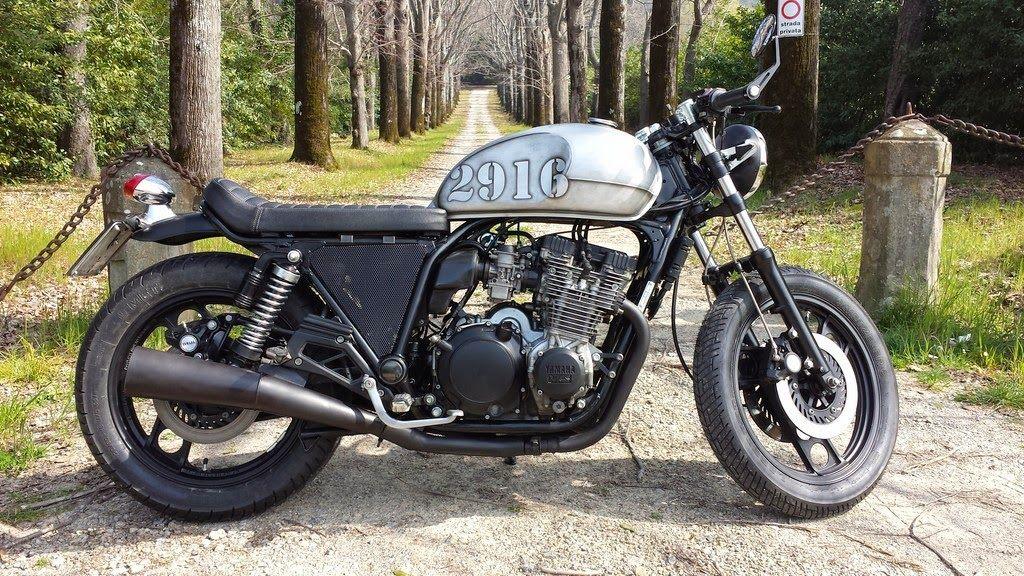 yamaha xj 750 cafè racerluca dogana   motos   pinterest