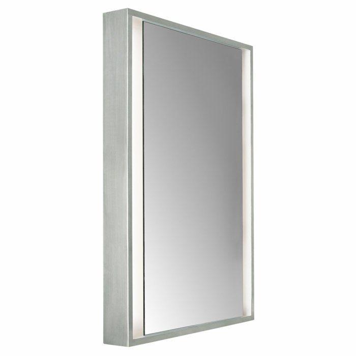 Badezimmer Spiegel Beleuchtung viereck led Badezimmer Ideen - badezimmer spiegel beleuchtung