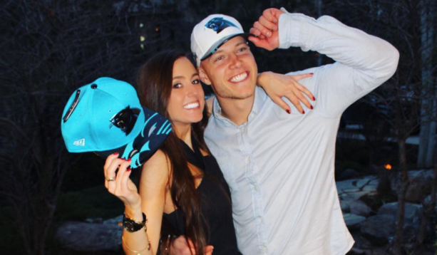 Brooke Pettet Christian Mccaffrey S Girlfriend Christian Mccaffrey Christian Mccaffery Christian