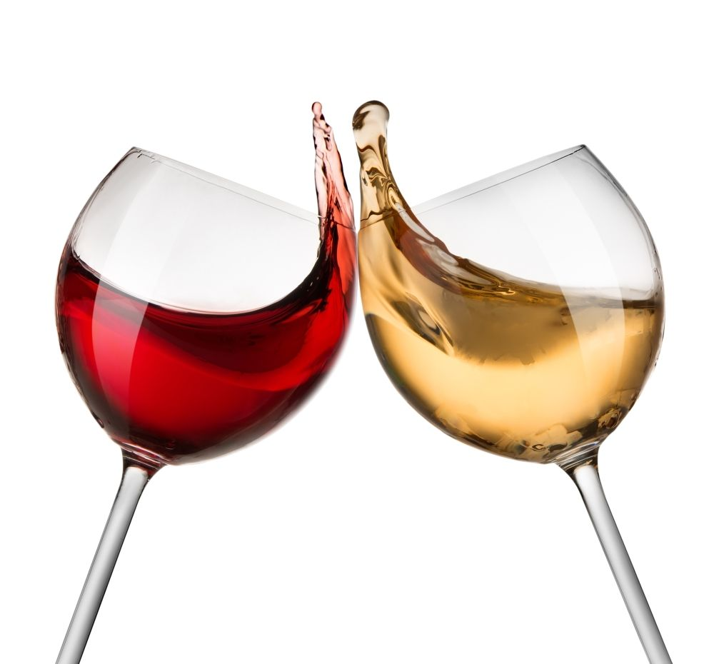 The Difference Between Red Wine And White Wine Red Wine Glasses Red Wine White Wine