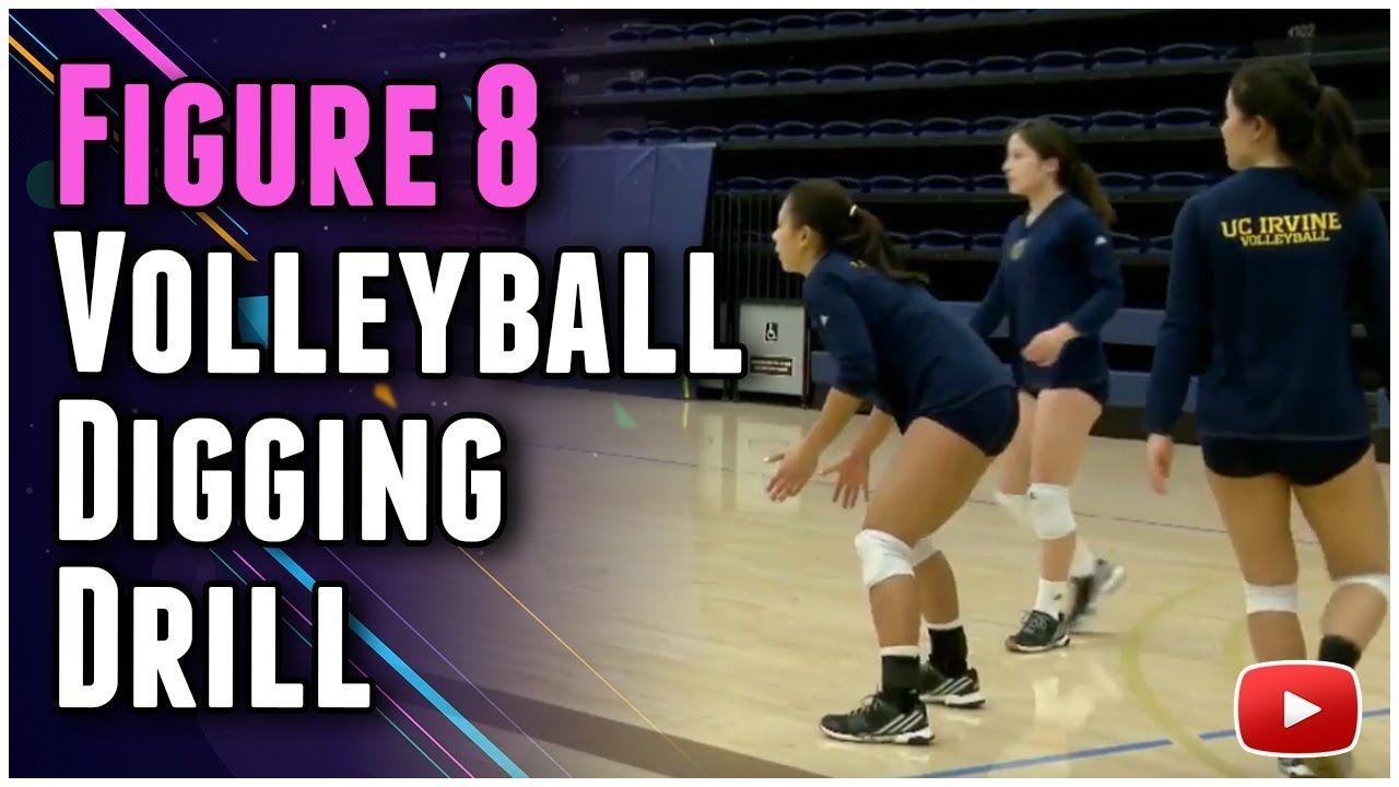 Inside Volleyball Practice Figure 8 Drill For Defensive Specialists Coach Ashlie Hain Y Volleyball Practice Volleyball Serving Drills Coaching Volleyball