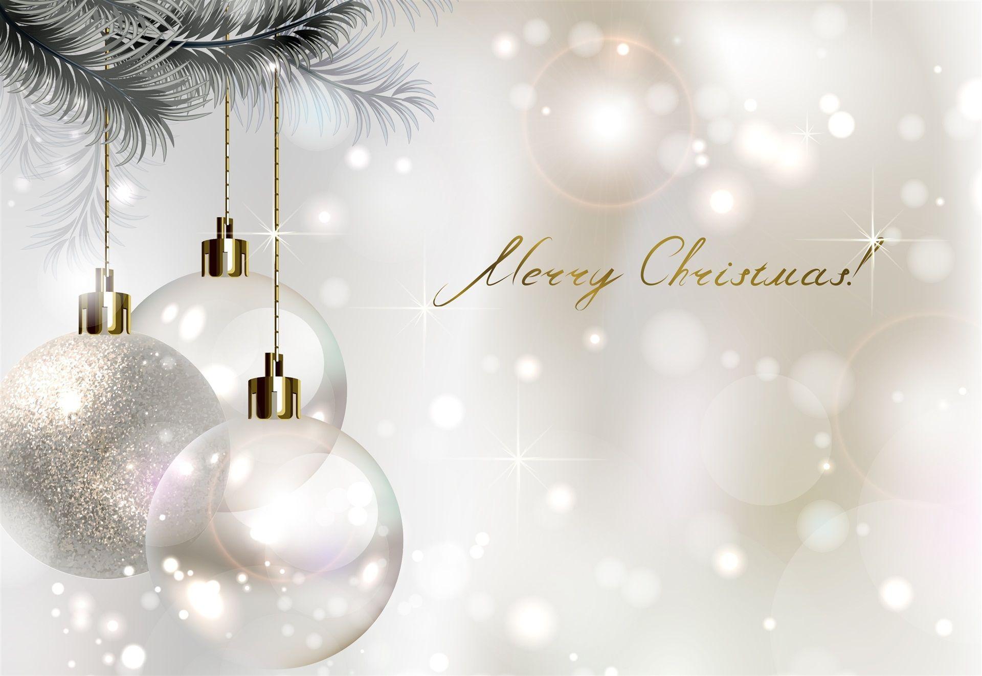 Wallpaper Christmas Tree Christmas Decorations Balloons