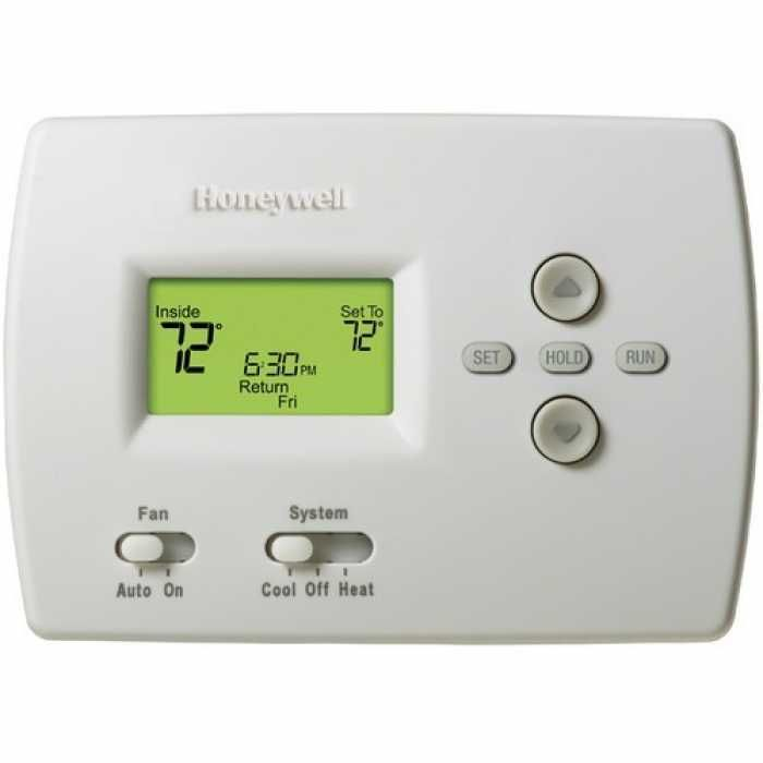 Honeywell Th4110d1007 Pro 4000 Series 5 2 Day Programmable Single