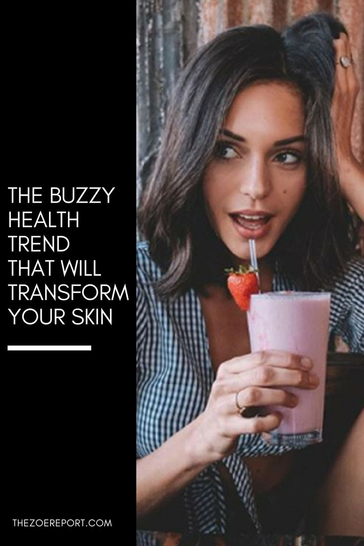 Seriously: This Buzzy Drink Clears Acne and Flattens Your Stomach photo