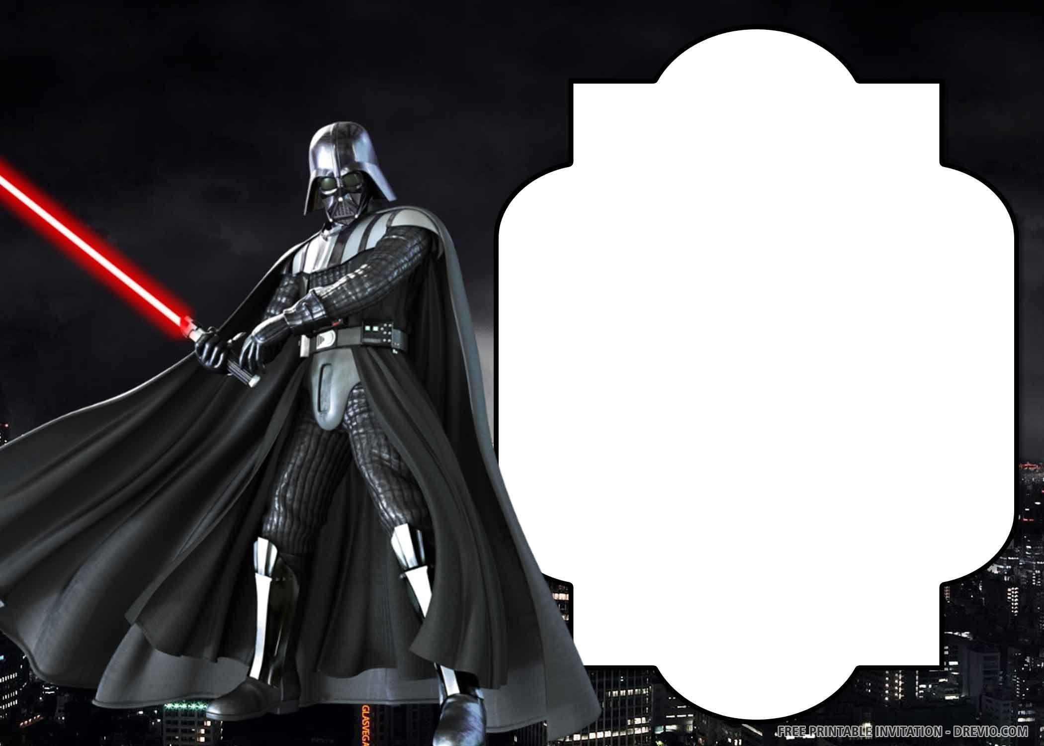 25 Free Star Wars Invitations Star Wars Printables Ideas Of Star Wars Printa Star Wars Invitations Star Wars Birthday Invitation Star Wars Party Printables