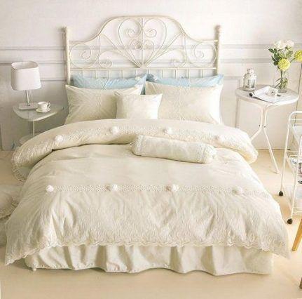 Schlafzimmer romantisch weiblich shabby chic 24 Ideen für