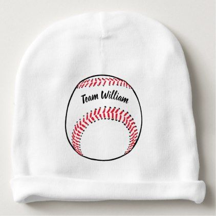 Baseball coach add name team and year baby beanie diy cyo baseball coach add name team and year baby beanie custom diy cyo personalize gift ideas negle Images
