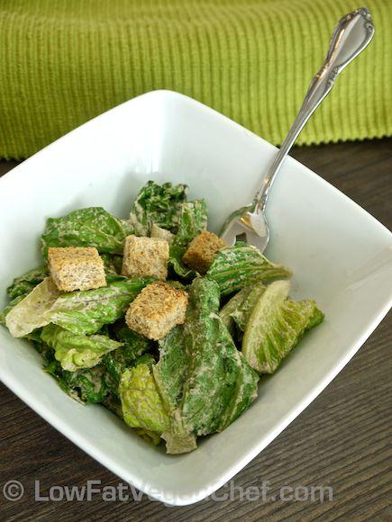 The Best Raw Vegan Caesar Salad Dressing Recipe Salad