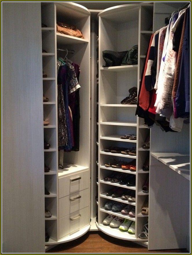 Lazy Susan Closet Shoe Organizer (664×881)