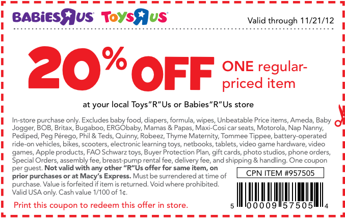 image relating to Baby R Us Printable Coupon titled Toddlers R Us Discount coupons Little ones Toys Discount codes Child discount codes, Absolutely free