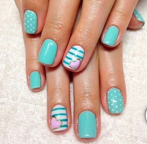 cute-nail-design-for-spring-2014-nail-design- - Cute-nail-design-for-spring-2014-nail-design-idea-cute-nail-designs