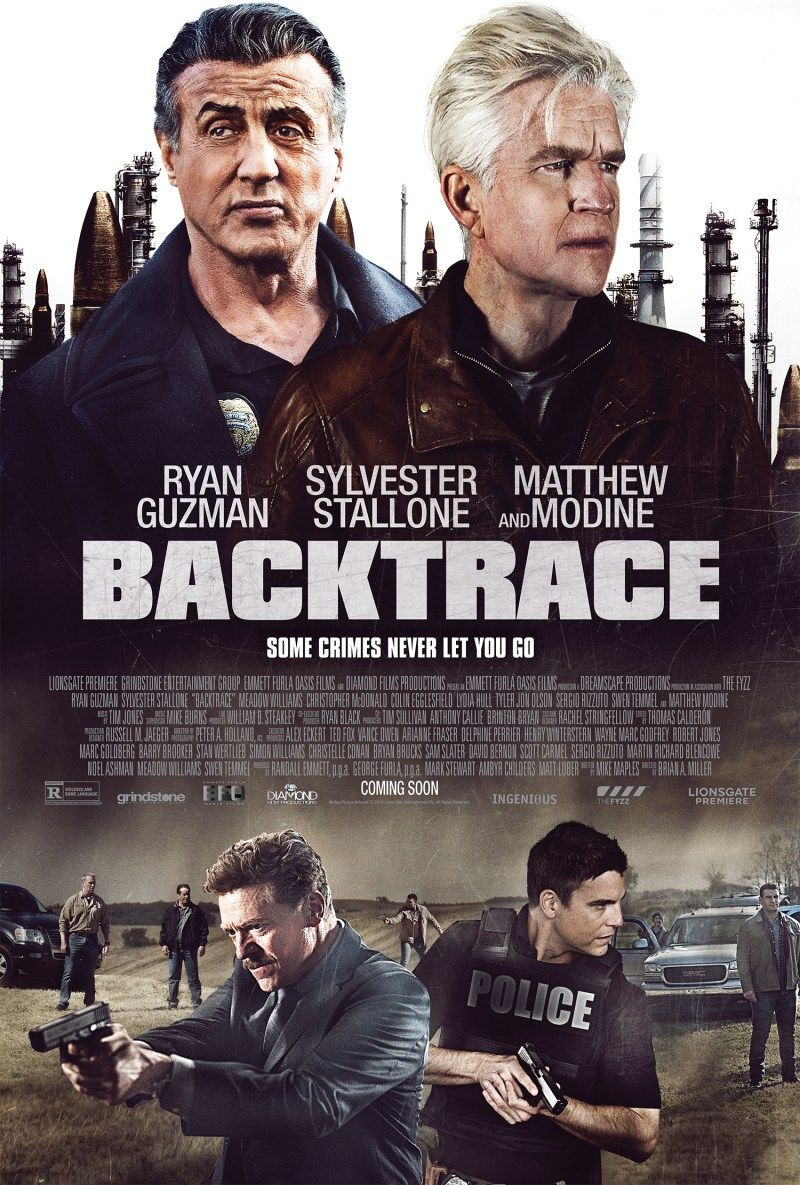 Lionsgate Premiere's Backtrace Trailer And Poster 2018