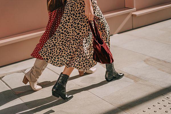 Le tendenza moda autunno inverno 2018 e 2019 hanno riportato in auge gli  stivali texani ed fab9f07a363