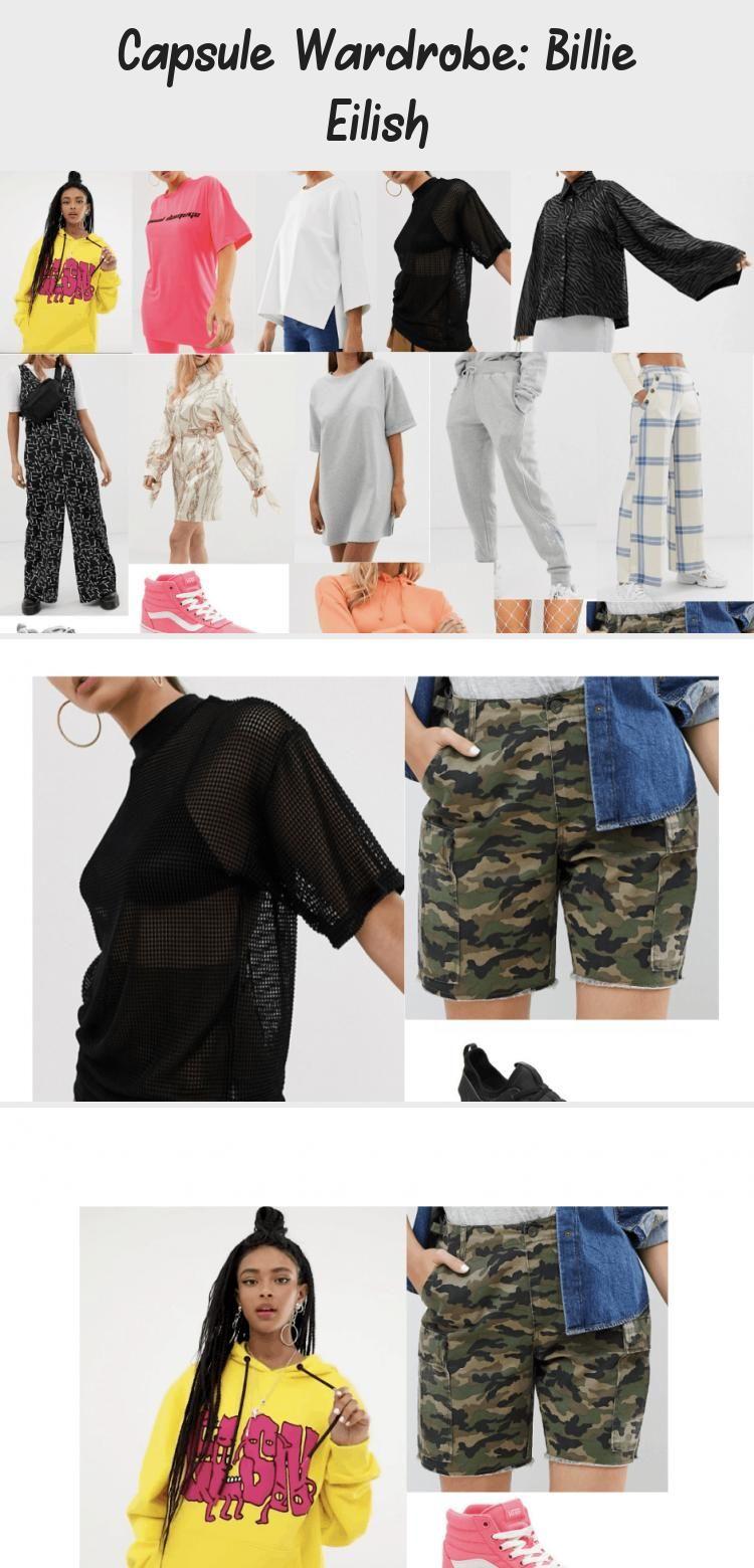 Capsule Wardrobe Billie Eilish Fashion Outfits Teenage Beautiful Outfits Fashion Outfits Outfit Inspirations