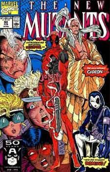 New Mutants #98 Facsimile Edition 1st Deadpool 2019 1st Print Unread NM