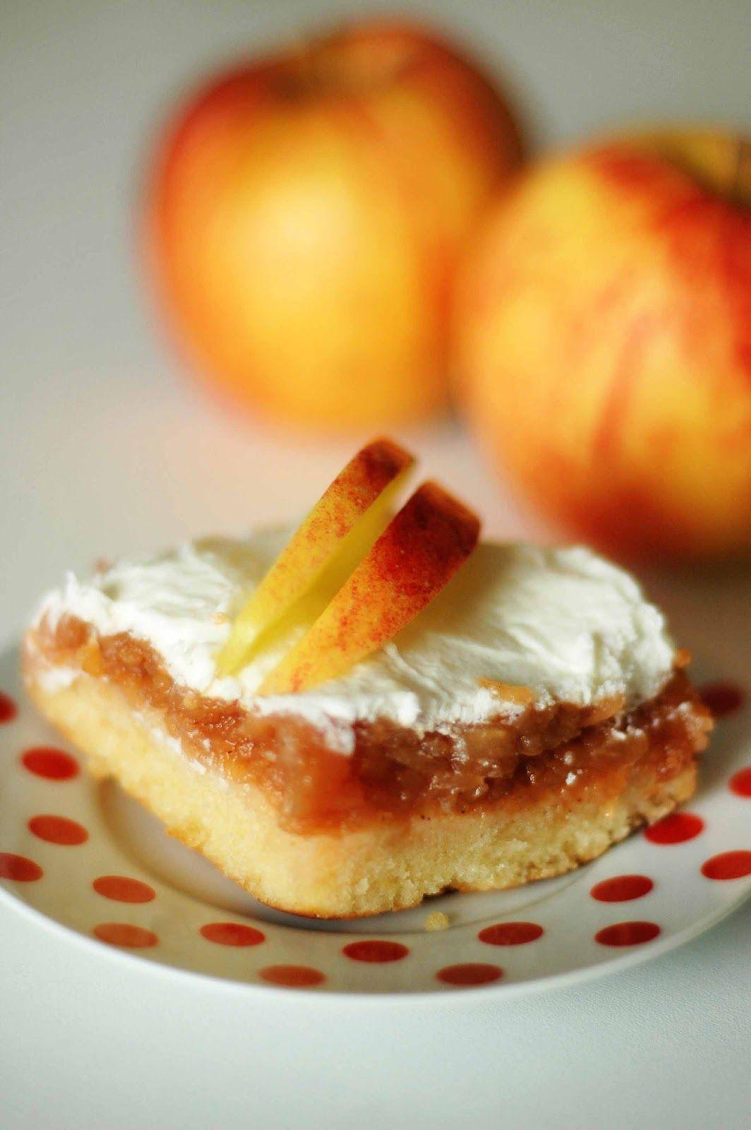 *Obrátený jablkový*  Jablkové koláče vždy voňajú ako domov...          Jablká ošúpeme, nastrúhame, zmiešame so škoricou a dáme rovnomerne na plech vystlaný papierom na pečenie. Z ostatných ingrediencií vymiešame cesto, nalejeme ho na jablká a dáme piecť do predhriatej rúry pri 180°C asi na 30 minút (kým nie je vrch pekne upečený).