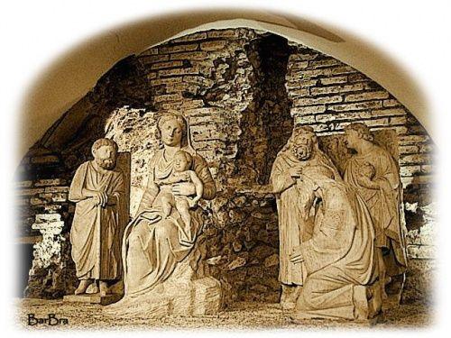 Il presepe di Arnolfo - DIAPOBLOG http://itinera-barbarae.over-blog.it/article-il-presepe-di-arnolfo-94307560.html