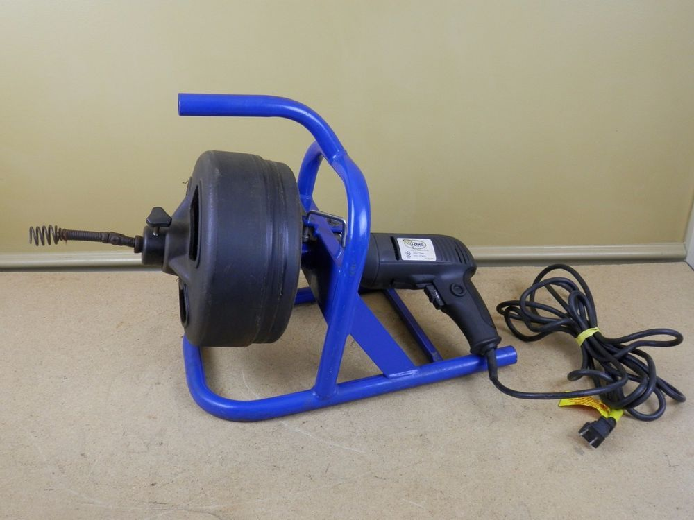 Cobra Lx500 50 Electric Powered Drum Auger Snake Cable Drain Clog Cleaner Used Cobra Snakes For Sale Cleaning Drain