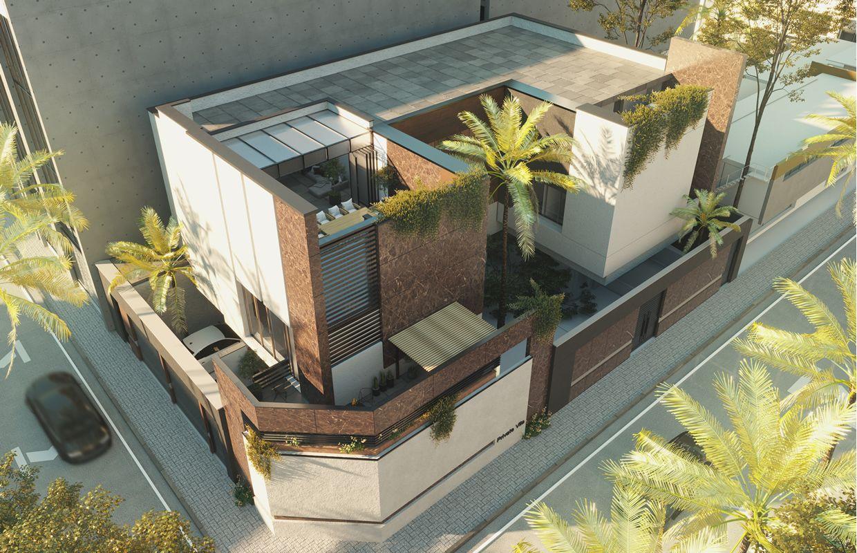 تصميم فيلا مودرن تصميم داخلي وواجهات الرياض المملكة العربية السعودية كومليت للعمارة Villa Design Modern Villa Design Architecture