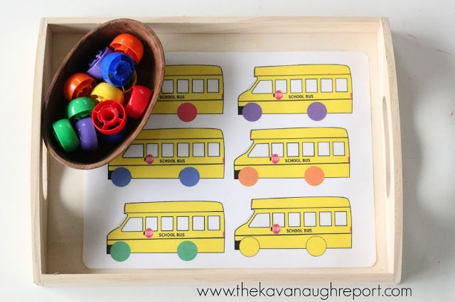 Tot School: Back-to-School Theme