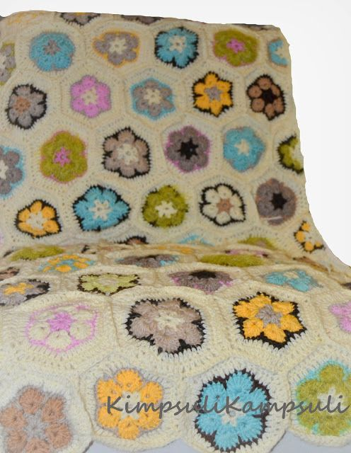 kimpsulikampsuli: Afrikkalainen kukka ja puolikas kukka OHJE