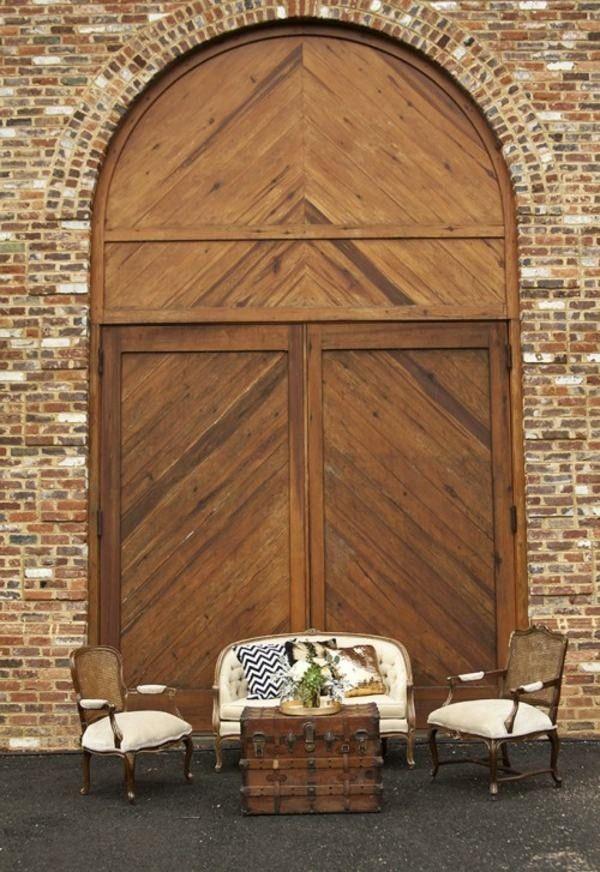 Rustic Wedding Decor Make your own warm earth tones door