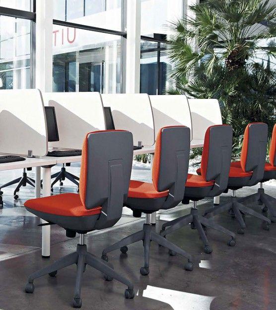 Sillas operativas ergonómicas Ergos | Decoración de oficina ...