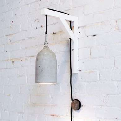 Hanging By A Thread 9 Inventive Ways To Hang Pendant Lights Concrete Pendant Lamp Concrete Pendant Light Diy Pendant Light