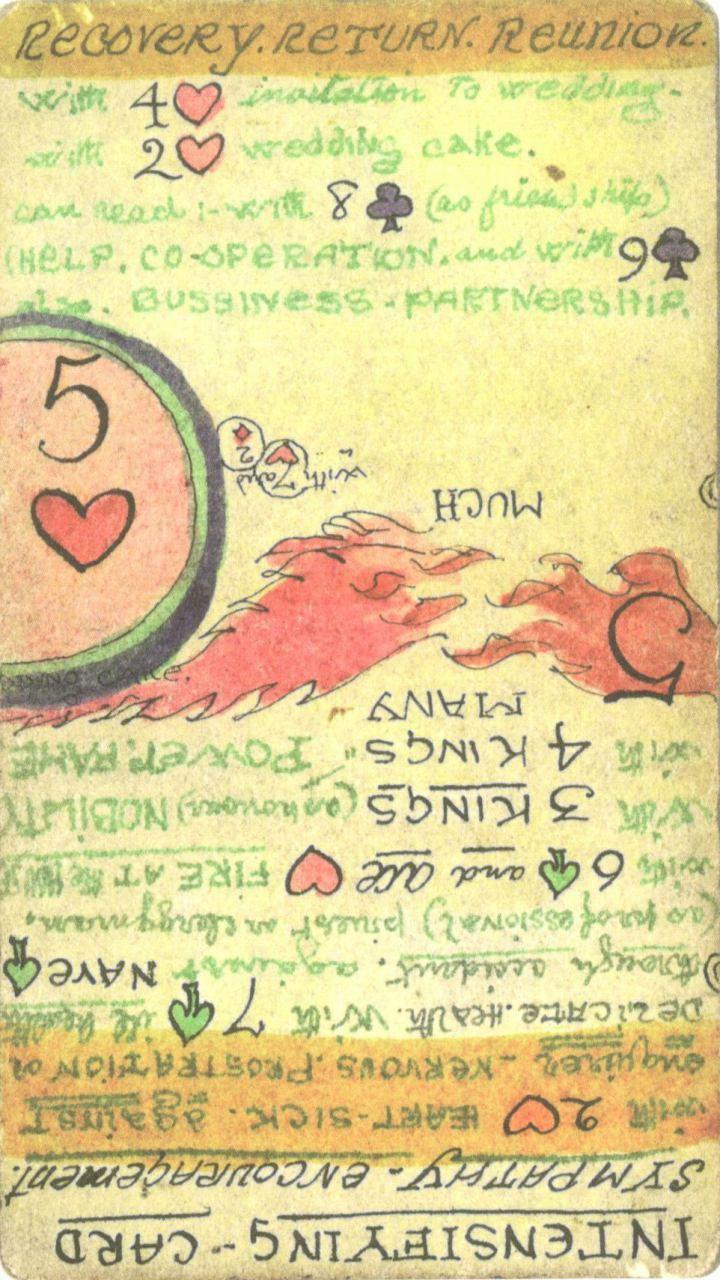 hearts 5 Cartomancy