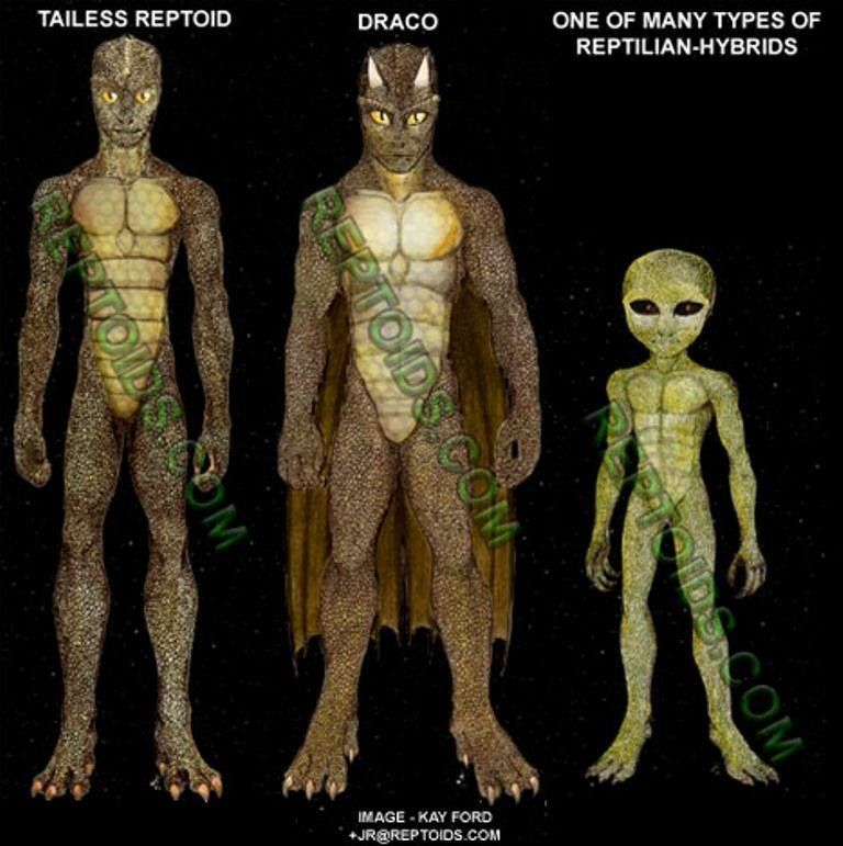 Reptilian aliens - This is a good reference for me as I have an