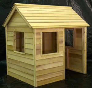 Outdoor playhouse ideas for the kids pinterest for Easy to build playhouse