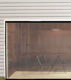 instant garage door screen $25 . | Garage doors, Diy ...