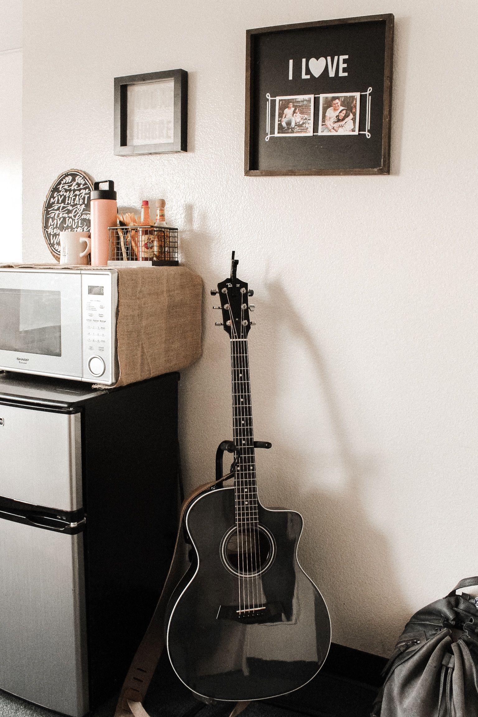 dorm room guitar microwave ig