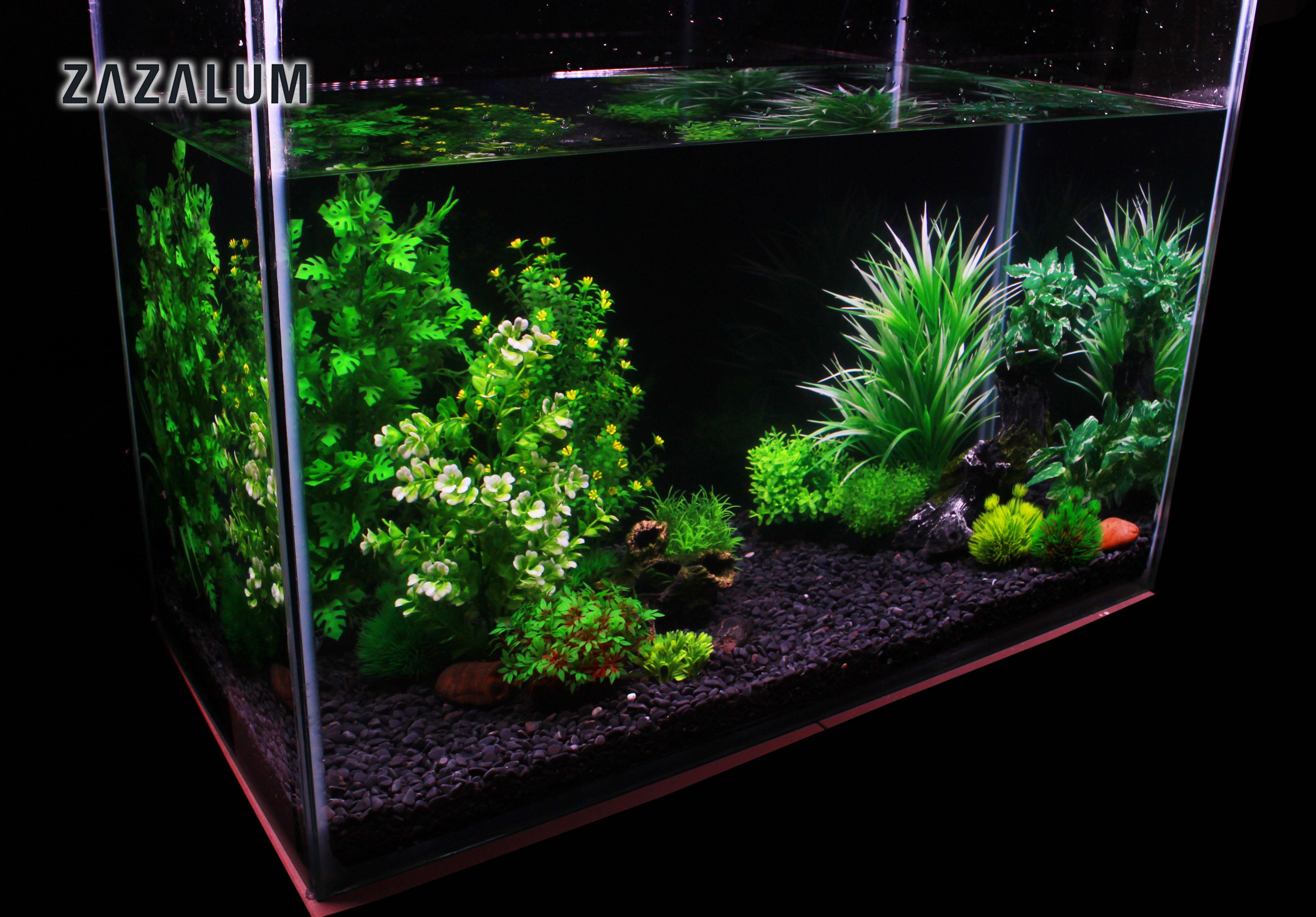 Aquascape Ideas Aquascaping With Artificial Plants