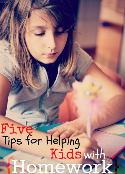 5 Tips For Helping Kids With Homework