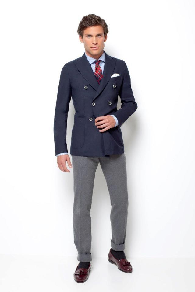 Americana cruzada / Double breasted blazer - Scalpers, suit, fashion,  gentleman, preppy