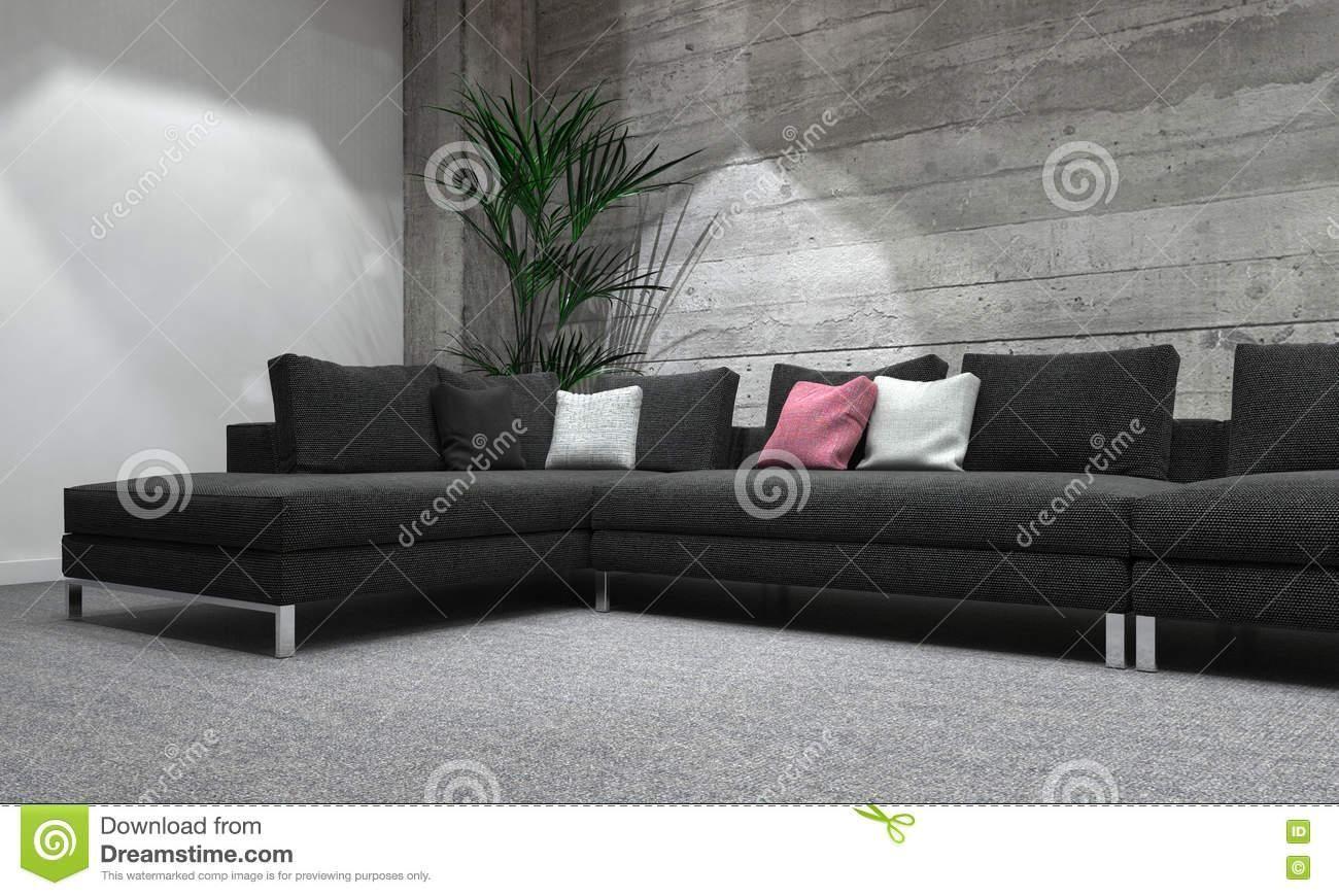 Moderne Schlafsofas Leder Schlafzimmer Grau Wei Beige