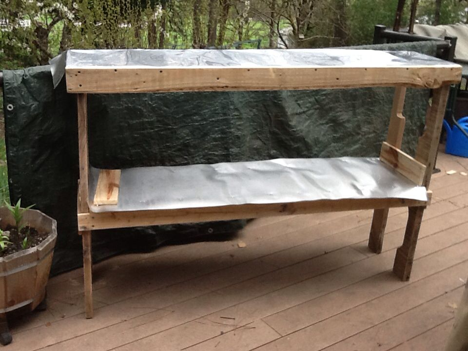 Folding table almost done | Laundry room folding table ...