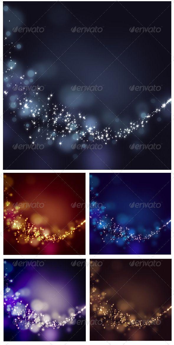 Glittering Stars on Bokeh Background — JPG Image #glamorous #magical • Available here → https://graphicriver.net/item/glittering-stars-on-bokeh-background/6618881?ref=pxcr