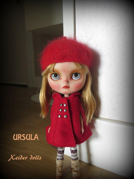 RRESERVED-OOAK Custom icy doll art dollUrsula by by XeiderDolls