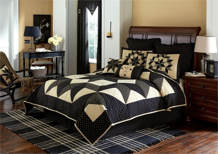The country porch home decor features carrington king luxury quilt from park designs